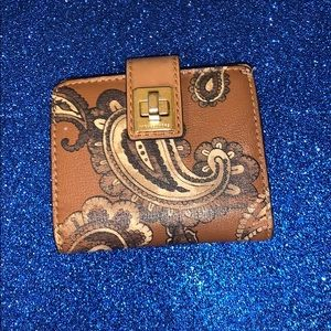 Michael kors used authentic luggage wallet